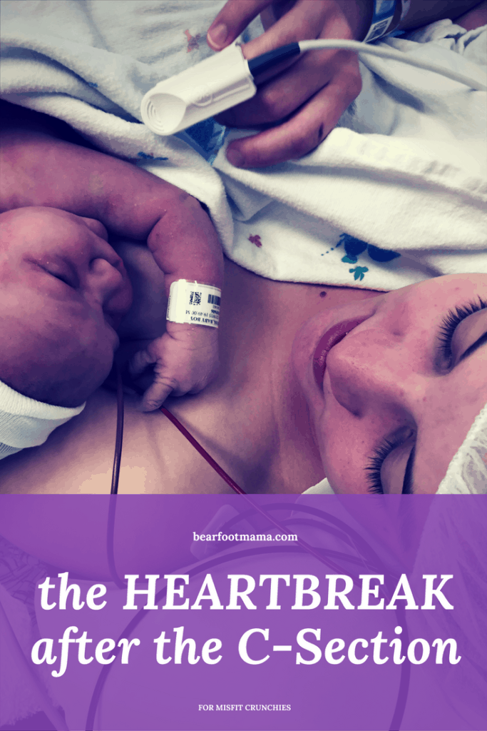 Did you feel heartbreak after your C-Section? I sure did. Learn how you can turn your traumatic memories into memories of love.