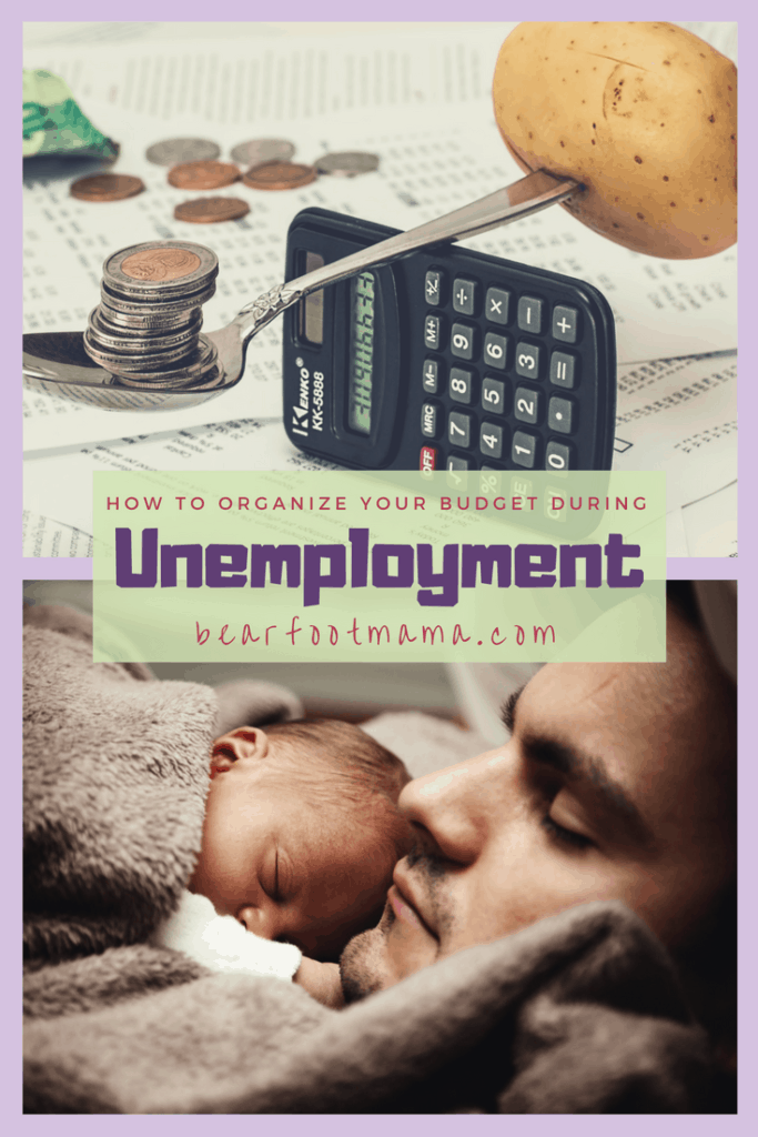 How to organize your budget for unemployment. Balance fixed with flexible expenses, and optimize your finances for your family of four!